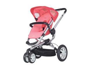 Quinny CV155BFX Buzz 3 Stroller - Pink Blush