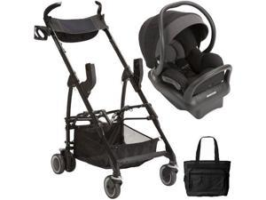 Maxi-Cosi - Mico Max 30 Infant Car Seat with Maxi Taxi Car Seat Carrier and Bag - Devoted Black