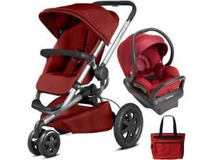 Quinny - Buzz Xtra MAX Travel System with Bag - Red Rumor