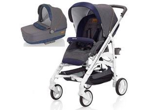 Inglesina - Trilogy Stroller with Bassinet - Jeans