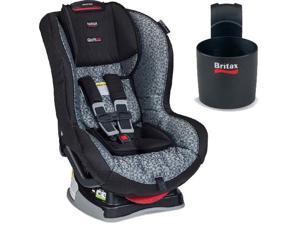 Britax - Marathon G4 1 Convertible Car Seat with Cup Holder - Silver Cloud