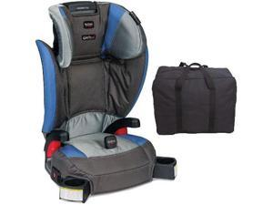 Britax - Parkway SGL G1 1 Belt-Positioning Booster Seat with Travel Bag - Scout Sapphire