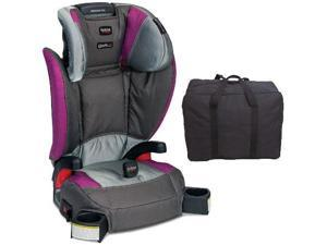 Britax - Parkway SGL G1 1 Belt-Positioning Booster Seat with Travel Bag - Scout Concord