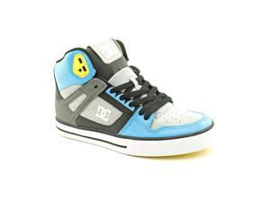 DC Shoes Spartan High WC Men US 9 Gray Skate Shoe