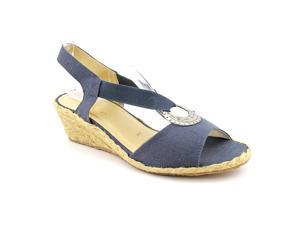 Beacon Fiesta Women US 6 N/S Blue Slingback Sandal