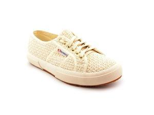 Superga Crochet Women US 8.5 White Sneakers EU 39.5