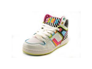 Osiris NYC 83 SLM ULT Youth Girls Size 2 Multi-Colored Leather Skate Shoes