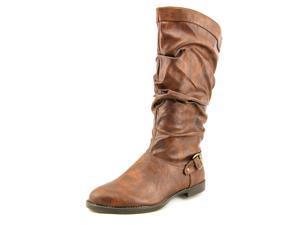 Easy Street Vigor Plus Women US 8 W Brown Mid Calf Boot