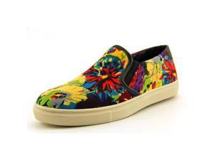 Steve Madden Ecentrcv Womens Size 8.5 Multi-Colored Fabric Loafers Shoes
