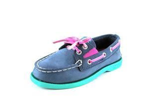 Sperry Top Sider A/O Slip On Toddler US 9 Blue Boat Shoe