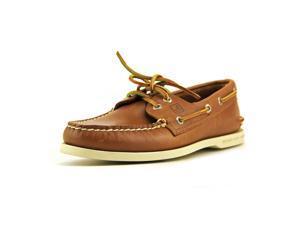 Sperry Top Sider A/O 2 Eye Men US 8 Tan Boat Shoe UK 7 EU 40.5