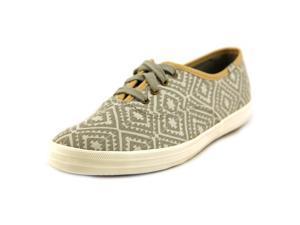 Keds Champion Botanical Women US 5 Gray Sneakers