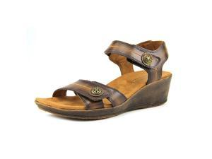 Cobb Hill by New Bal Lindsay Women US 9.5 Brown Wedge Sandal