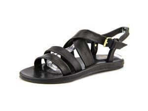 Emozioni W1323 Women US 8 Black Open Toe Slingback Heel