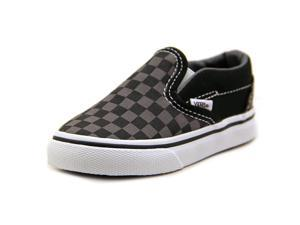 Vans Classic Slip-on Toddler Boys Size 9.5 Black Textile Sneakers Shoes UK 9