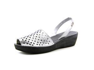 Kenneth Cole Reaction Fine Glass 2 Women US 6 Gray Slingback Sandal