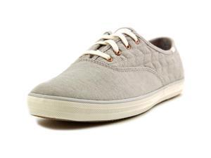 Keds Champion Quilt Jersey Women US 7 Gray Sneakers