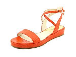 Michael Michael Kors Kaylee Flat Women US 5 Orange Slingback Sandal