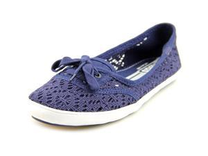 Keds Teacup Crochet Women US 8 Blue Flats