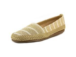Aerosoles Women's Solitaire Slip-On Loafer, Natural Gold Metallic, 8M