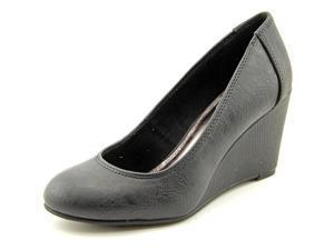 Unlisted Kenneth Col Bold Shoe  Women US 9.5 Black Wedge Heel