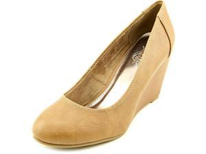 Unlisted Kenneth Col Bold Shoe  Women US 8.5 Tan Wedge Heel