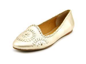 Jack Rogers Waverly Women US 7 Gold Flats
