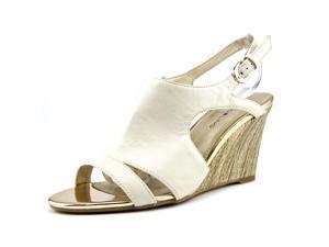 Bandolino Tadaa Women US 10 White Wedge Heel