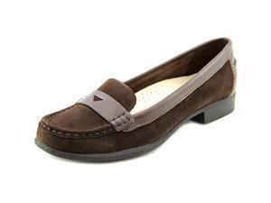 Hush Puppies Motive Penny II Women US 5.5 Brown Moc Loafer