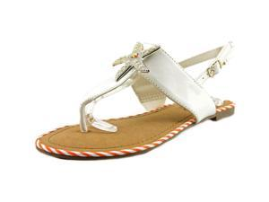 Unlisted Kenneth Cole Starfish Stand Women US 6.5 White Thong Sandal