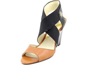 Michael Michael Kors Meadow Wedge Women US 5.5 Black Wedge Sandal