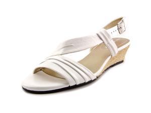 David Tate Caress Women US 9.5 SS White Slingback Sandal
