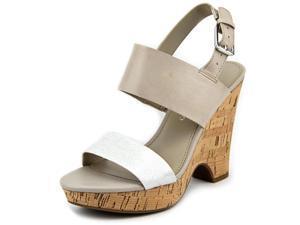 Franco Sarto Gardenia Women US 10 Tan Wedge Heel UK 8 EU 41.5