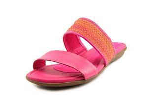 Hush Puppies Nishi Slide Women US 7.5 Pink Slides Sandal UK 5.5
