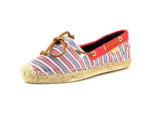 Sperry Top Sider Katama Boat Shoe Women US 10 Red Espadrille