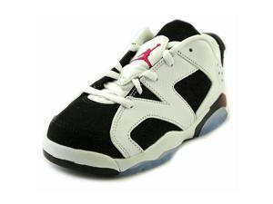Jordan 6 Retro Low BG Youth US 12.5 White Basketball Shoe