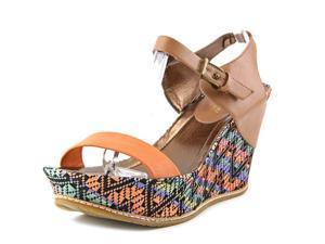 Kenneth Cole Reactio Huge Swell Women US 9.5 Tan Platform Sandal