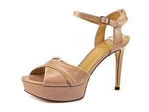 Stuart Weitzman Nexus Women US 10 Nude Platform Sandal