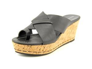 Donald J Pliner Fuji 2 Women US 10 Black Wedge Sandal