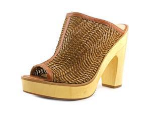 Pour La Victoire Sanya Women US 8 Brown Peep Toe Mules