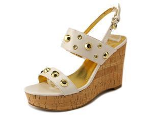 Ivanka Trump Gitty Women US 9 White Wedge Heel