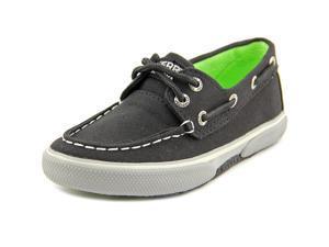 Sperry Top Sider Halyard Toddler US 6 Black Moc Boat Shoe UK 5.5 EU 22