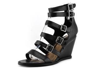 Matisse Honor Women US 6 Black Wedge Sandal
