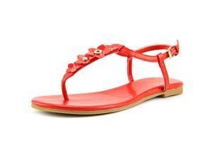 Cole Haan Effie Floral Sandal Women US 9.5 Red Thong Sandal