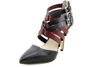 Michael Michael Kors Cammie Back Zip Women US 8 Black Sandals