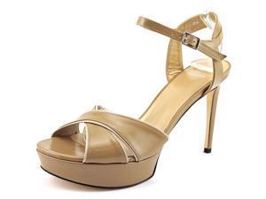 Stuart Weitzman Nexus Women US 9.5 Nude Platform Sandal