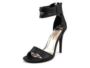 Michael Antonio Chelsi Women US 7.5 Black Heels UK 5 EU 38