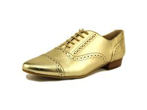 Marc Fisher Pitrel Women US 10 Gold Oxford