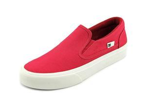 DC Shoes Trase Slip-On TX Women US 6 Red Sneakers