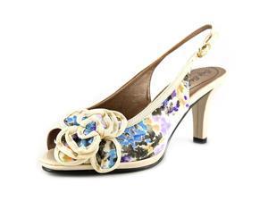Soft Style by Hush P Fiora Women US 7 Ivory Slingback Heel